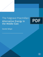Alternative Energy in the Middle East