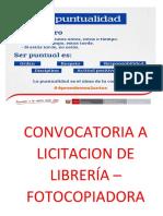 Cartel Jfk Puntualidad