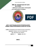 4to y 5to Trabajo de Investigacion de Temas Desarrolados en Clase