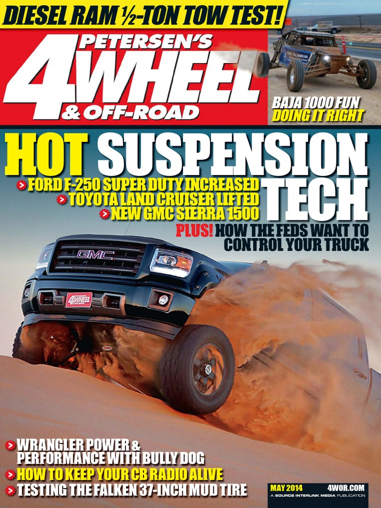 4 Wheel Off Road May 2014 Usa Off Roading Vehicle Technology