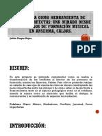 Presentación Proyecto Julián Duque
