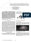 [6] Design and Modeling of a Mobile Research Platform Based on Hexapod Robot With Embedded System and Interactive Control