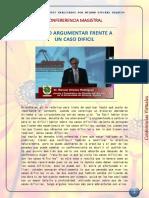 COMO ARGUMENTAR ANTE UN CASO DIFICIL.docx