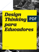 Design Thinking Para Educadores Spanish