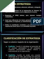 1 - Estrategia - Proceso Estrategico