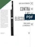 Libro_Contra Las Elecciones