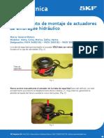 SKF - Montaje de Actuadores de Embrague Hidraulicos
