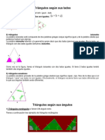 Triángulos Según Sus Lados