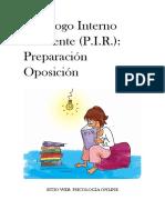 Manual Pir Preparación Oposición - Psicología Online