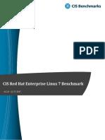 CIS Red Hat Enterprise Linux 7 Benchmark v2.2.0