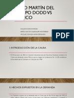 Caso Martín del Campo Dodd vs México (1)