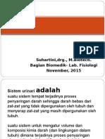 sist. Urine 2015 2.ppt