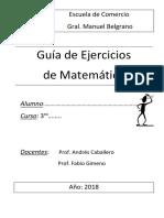 Cuadernillo 2018