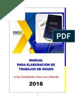 Manual Para La Elaboracion de Trabajos de Grado emi