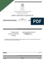 Lengua Adicional Al Espanol III