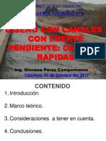 Diseño de Canales Por Fuertes Pendientes_caidas