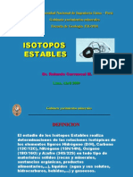Cap.5 (Isotopos Estables)