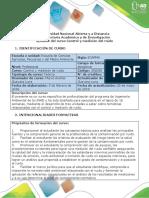 Syllabus Del Curso Control y Medición Del Ruido