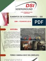 Presentacion Dsi Underground - Cmh s.A