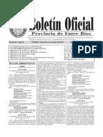 Sumario a Hugo Righelato (02-05-18 Boletin Oficial)