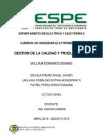 Informe Edwards Deming