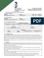 Programa Comunicación de Datos UNSL