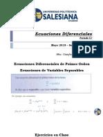 02.- Capitulo # 1.- Ecuaciones de Primer Orden [1] - P52