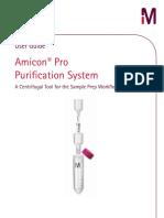 Millipore Amicon Pro Purification System