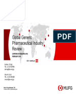 2016 - MUFG Global Generic Pharma Industry Review