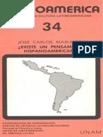 Mariategui - Existe un pensamiento hispanoamericano.pdf
