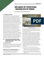 Ensuring Compliance of Structural Steelwork - Regardless of Origin