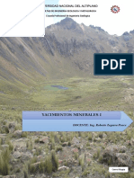 Yacimientos Minerales I