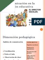 Comunicacion en El Centro Educativo