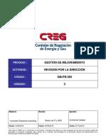 GM-PR-005 Revision Por La Direccion_Final