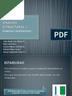 ANALISIS ESTRUCTURAL 1