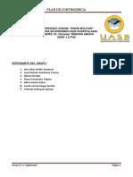 Plan de Contingencia Acinetobacter