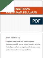 Pengurusan Panitia