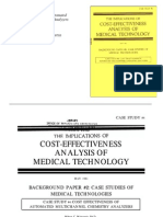 Cost Effectiveness of Automated Multi Channel Chem Analyzer