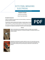 Proyecto Final Maquinas Electricas