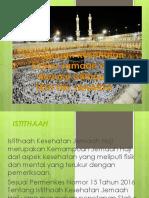 Presentasi Pembinaan Haji ISTITHAAH