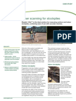 Maptek I-Site Stockpiles Casestudy