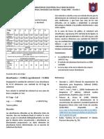 Práctica 9. Determinación de Colesterol Por El Método de Liebermann Burchard