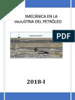 Informe 1 Geomecanica