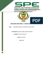 Seguridad Interna y Externa de Ecuador