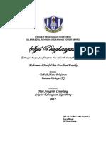 sijil tahap 1
