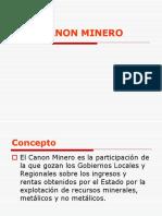 1.Canon Minero 2018