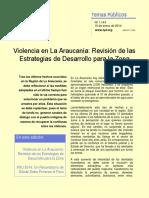 Tp 1.144 Violencia en La Araucanía Ml Ll2