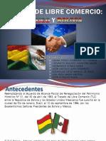 Tratado de Libre Comercio Mexico Bolivia