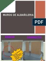 MUROS DE ALBAAÑILERIA Y COLOCACION DE TUBERIA DESAGUE.pptx