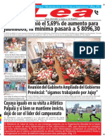 Periódico Lea Lunes 14 de Mayo Del 2018
